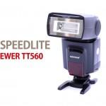 格安カメラフラッシュ「NEEWER SPEEDLITE TT560」使用レビュー